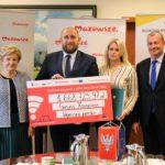 Uroczyste podpisanie umów o dofinansowanie unijne projektów z dz. 4.3 Edukacja emisji zanieczyszczeń powietrza i dz. 2.1 E-usługi