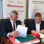 Uroczyste podpisanie umowy o dofinansowanie unijne projektu z Działania 4.3 Redukcja emisji zanieczyszczeń powietrza