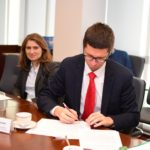 Uroczyste podpisanie umów o dofinansowanie unijne projektów z Działania 4.3 Redukcja emisji zanieczyszczeń powietrza