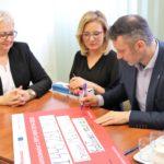 Uroczyste podpisanie umowy o dofinansowanie unijne projektu z Działania 10.1 Kształcenie i rozwój dzieci młodzieży