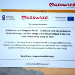 02 IMiD Tablica informacyjna o projekcie