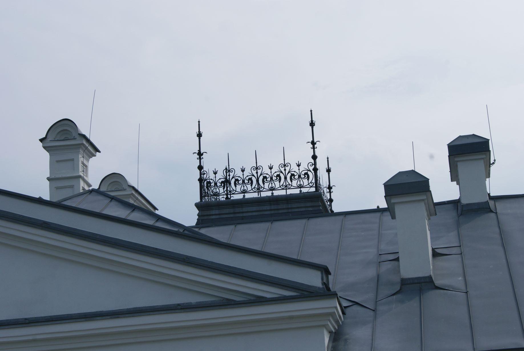 ZDJ.8 Detal na dachu
