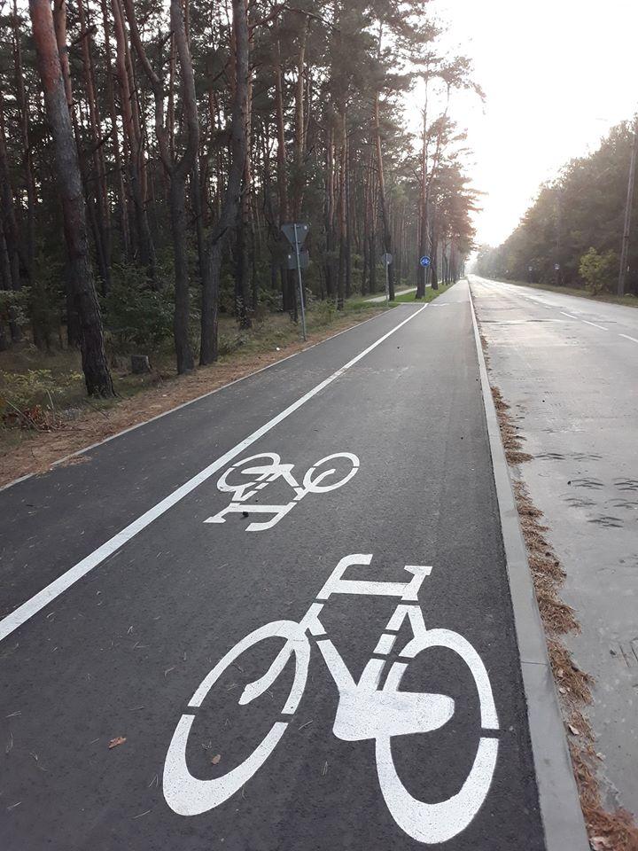 Ciąg pieszo-rowerowy ul. Narutowicza