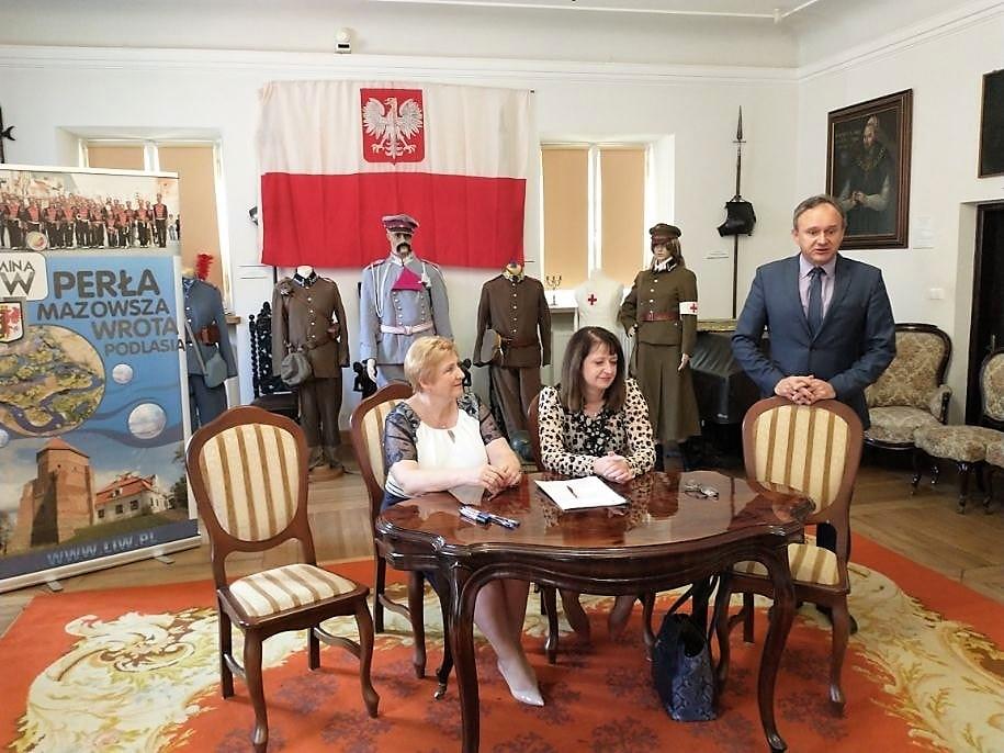 Uroczystość podpisania umowy