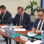 Uroczystość podpisania umów o dofinansowanie