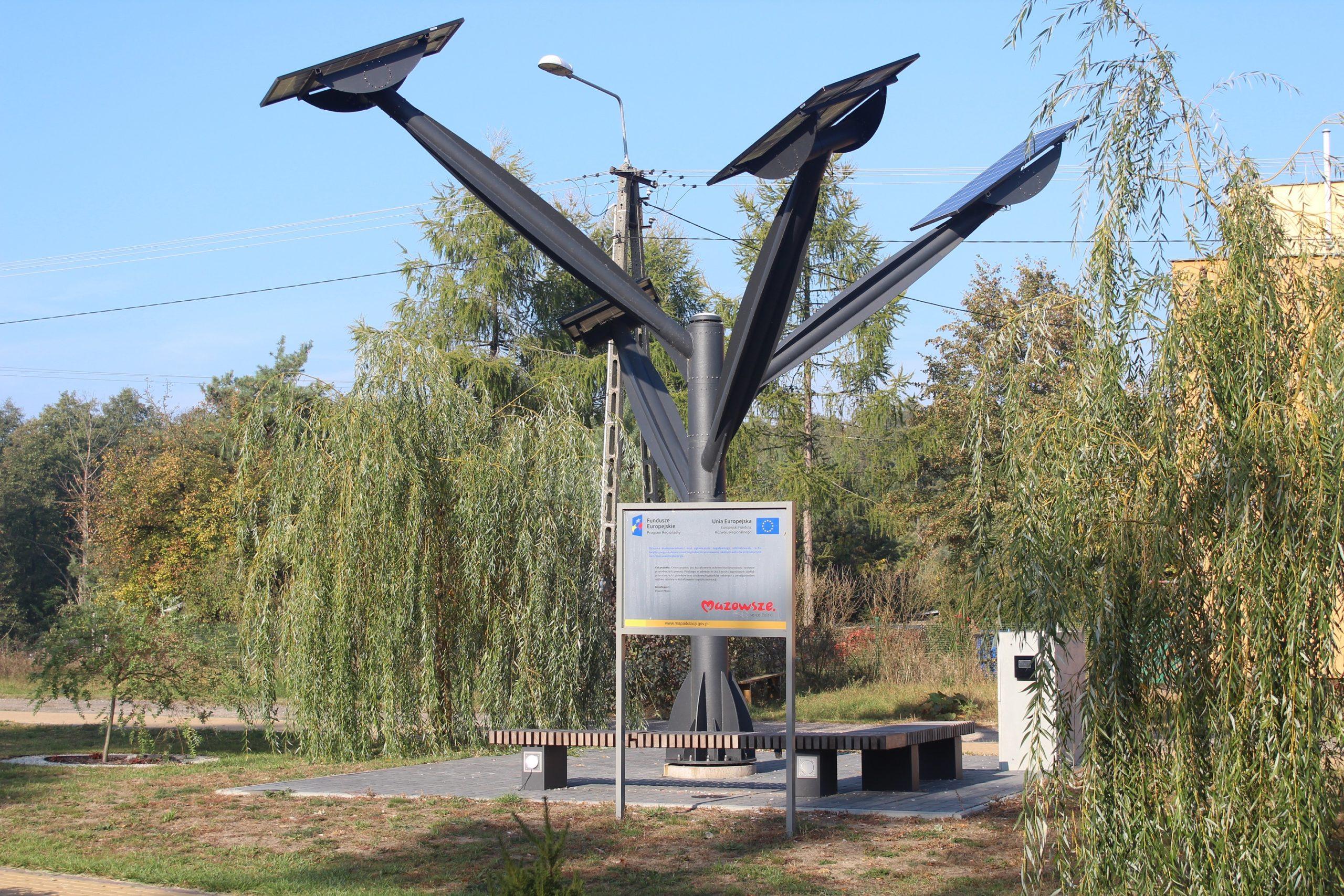 Drzewo OZE w gminie Nowy Duninów