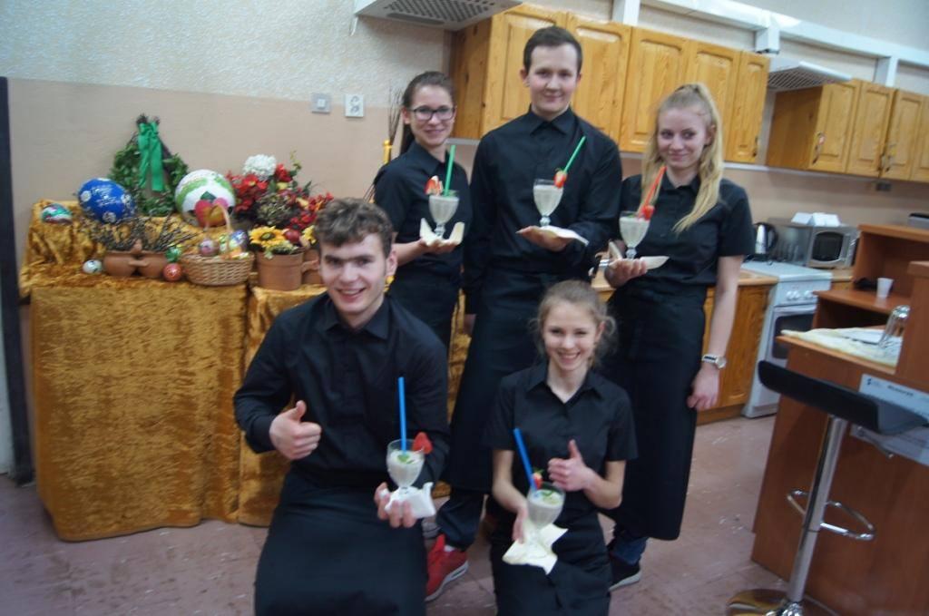 Doskonalenie zawodowe uczniów Zespołu Szkół Ponadgimnazjalnych im. Jana Pawła II w Lipsku