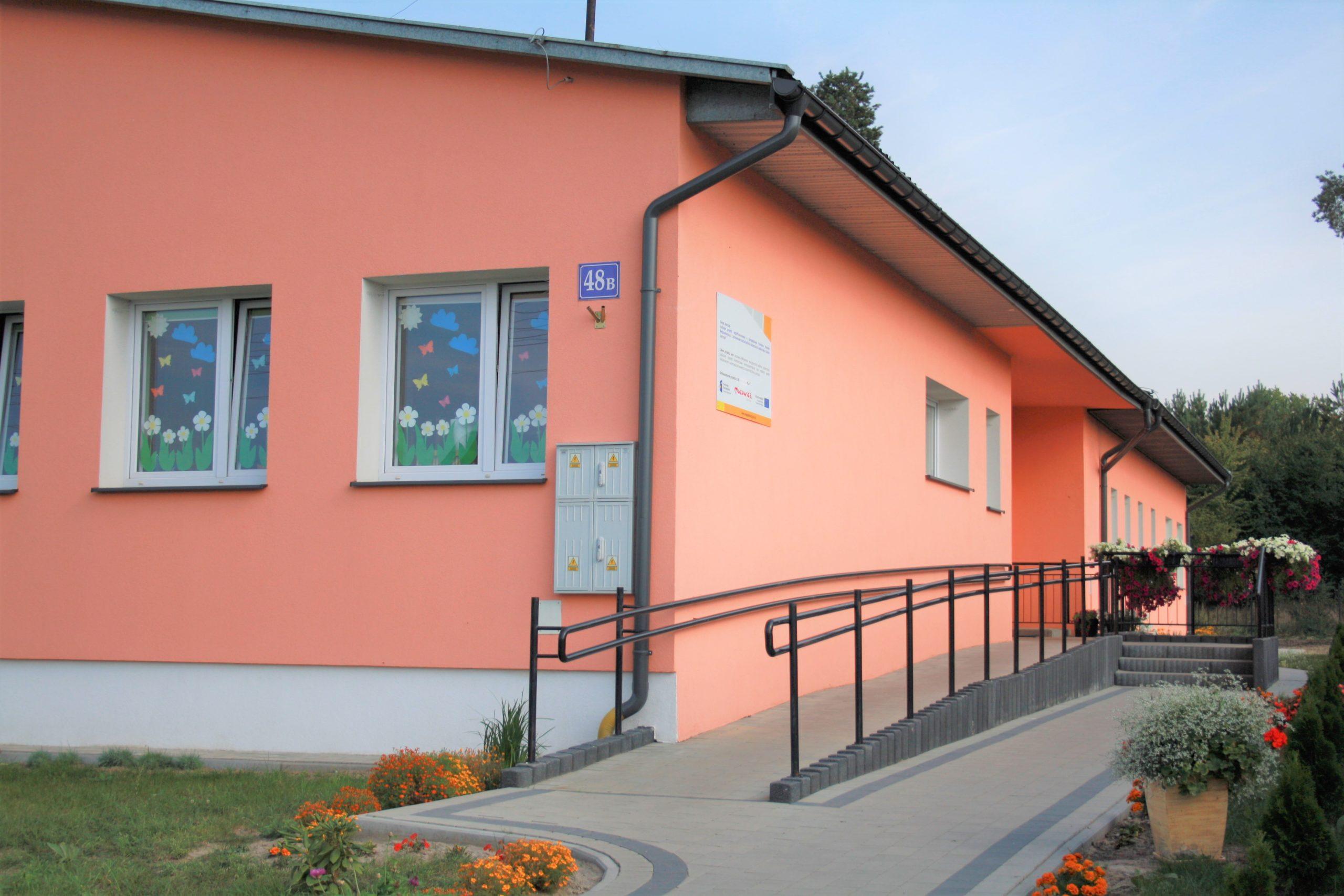 Dzięki Funduszom Europejskim w gminie Jastrząb powstało przedszkole Baśniowa Kraina