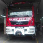 Samochod ratowniczo gasniczy zakupiony w ramach projektu
