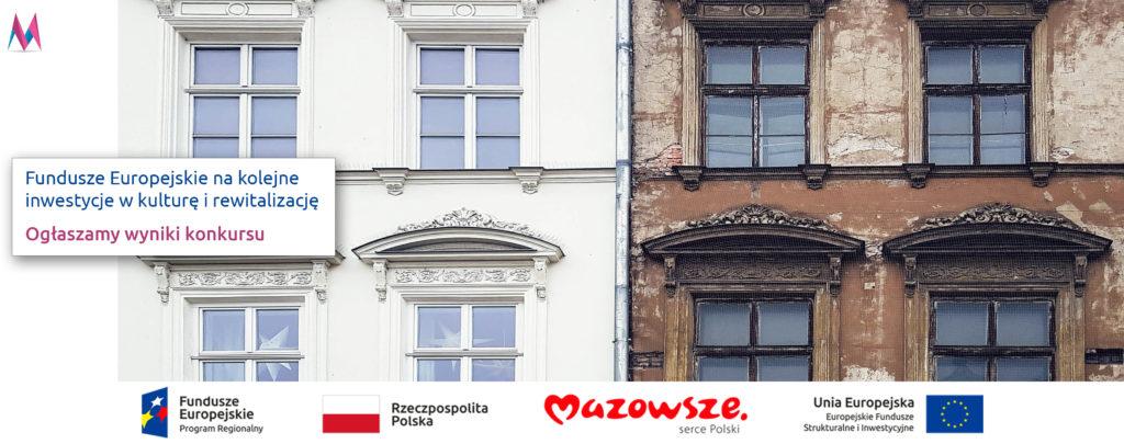 Zabytkowy budynek przed i po remoncie jako przykład inwestycji finansowanej z funduszy europejskich