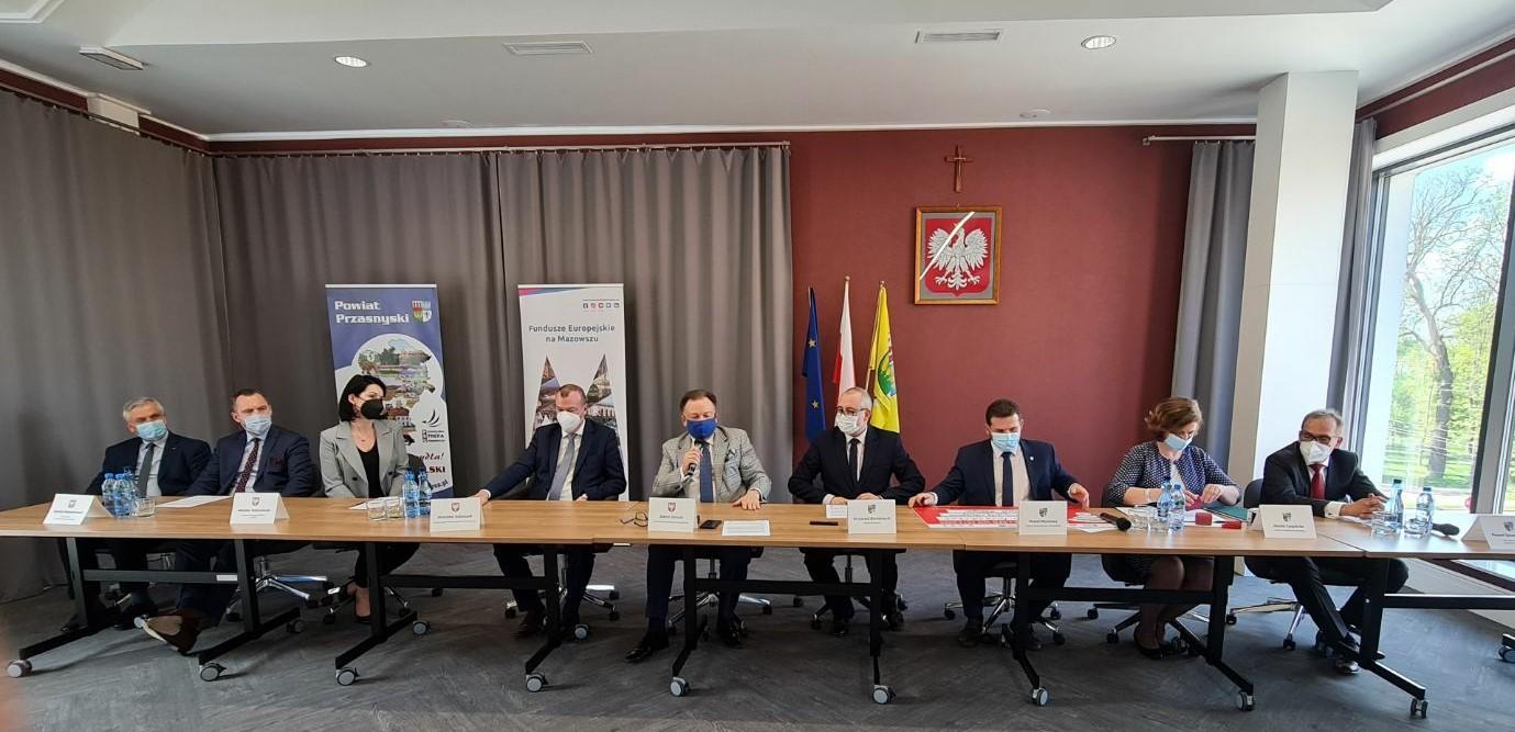 Podpisanie dwóch umów na rozbudowę dróg