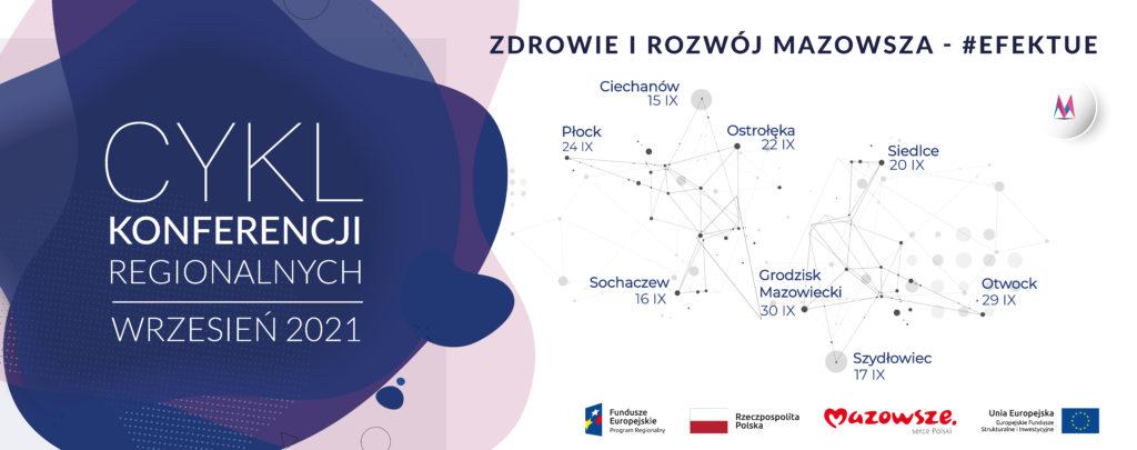 Już we wrześniu Konferencje regionalne poświęcone efektom Funduszy Europejskich na Mazowszu